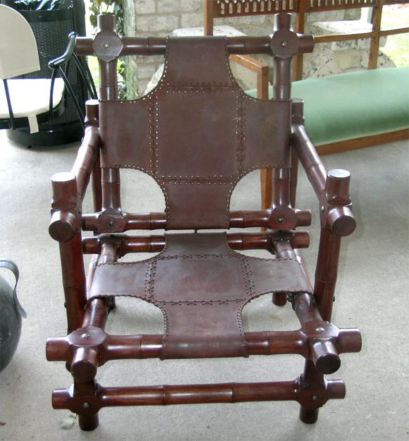 Pair of Walnut Chairs 2