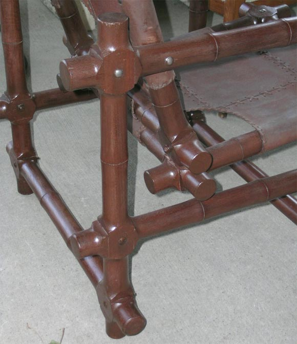 Pair of Walnut Chairs 4