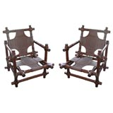 Pair of Walnut Chairs