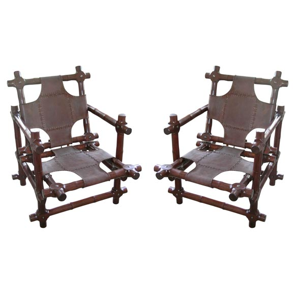 Pair of Walnut Chairs 1