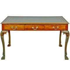 Irish Georgian Mahogany Writing Table