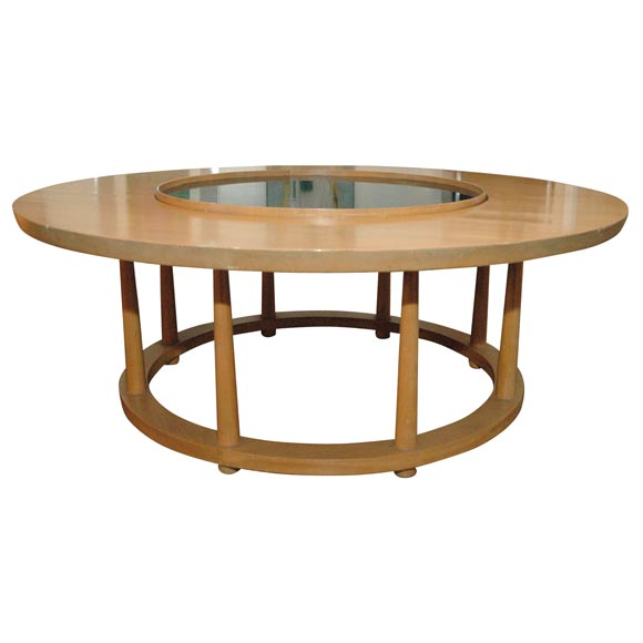 Widdicomb Lazy Susan Coffee Table At 1stdibs
