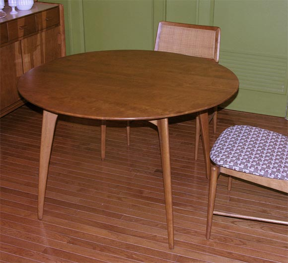 Dining Set By Conant Ball At 1stdibs