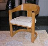 "Karl Springer ""Onassis"" Chair image 3"