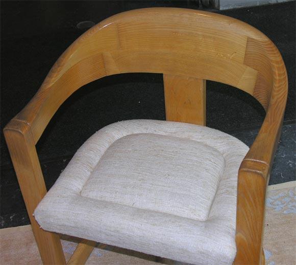 """Karl Springer """"Onassis"""" Chair 4"""