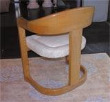 "Karl Springer ""Onassis"" Chair image 5"