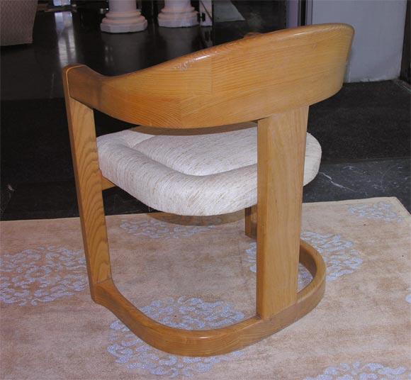 """Karl Springer """"Onassis"""" Chair 5"""
