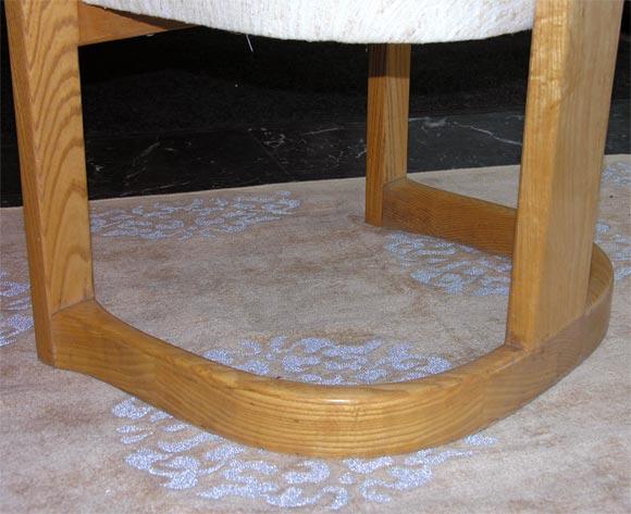 """Karl Springer """"Onassis"""" Chair 6"""