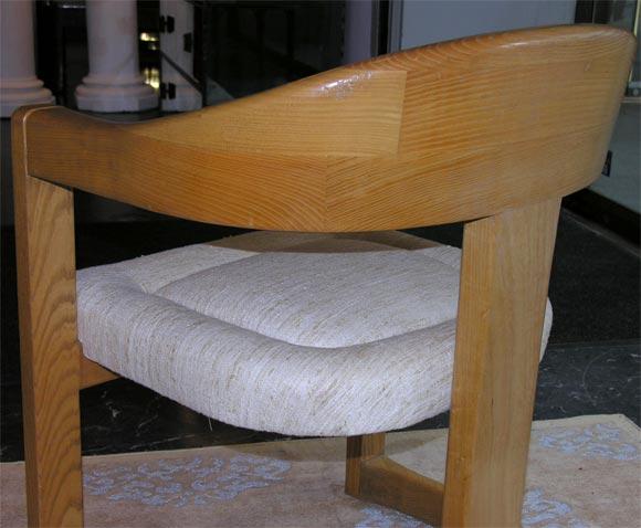 """Karl Springer """"Onassis"""" Chair 7"""