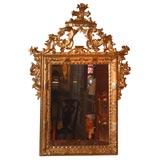 Fine Giltwood 18th Century Venetian Mirror