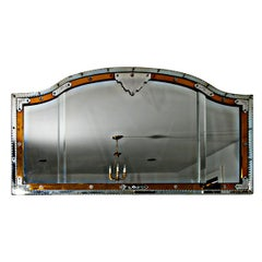 Venetian Overmantel Mirror