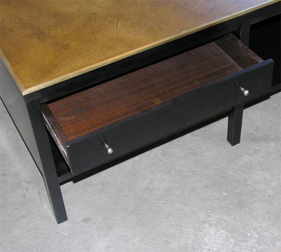 this paul mccobb leather top coffee table is no longer available