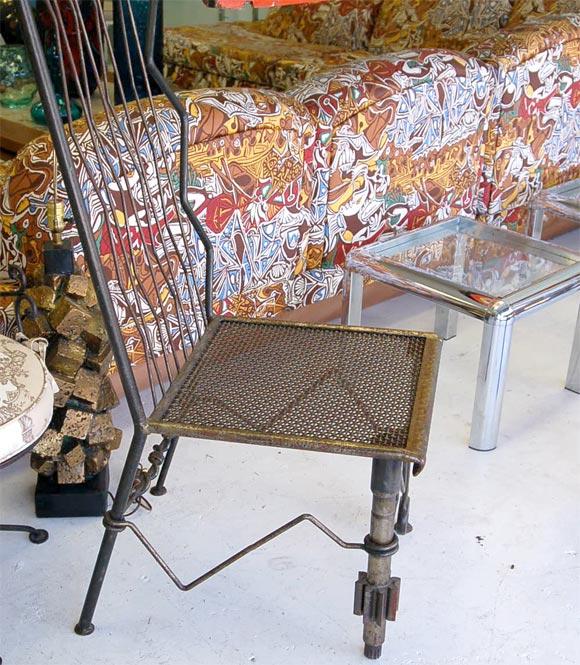 Steel Chair 4