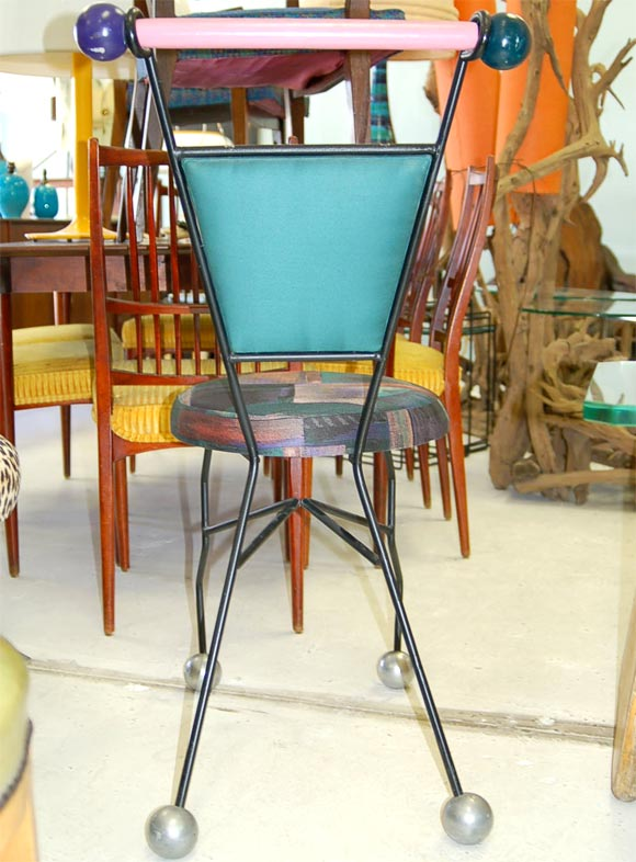Memphis Style Desk Chair At 1stdibs
