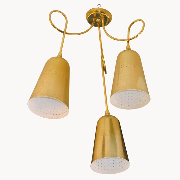 French Whimsical Ceiling Light At 1stdibs