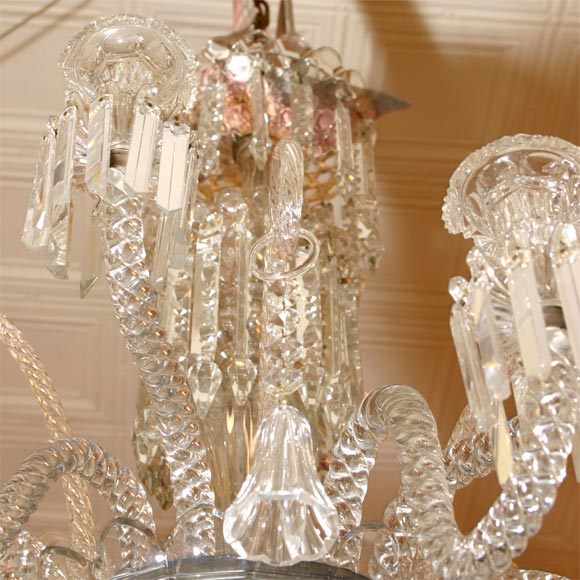 12 Arm Baccarat Chandelier At 1stdibs