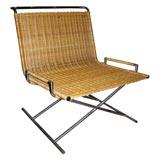 """Ward Bennett """"Sled Chair"""""""