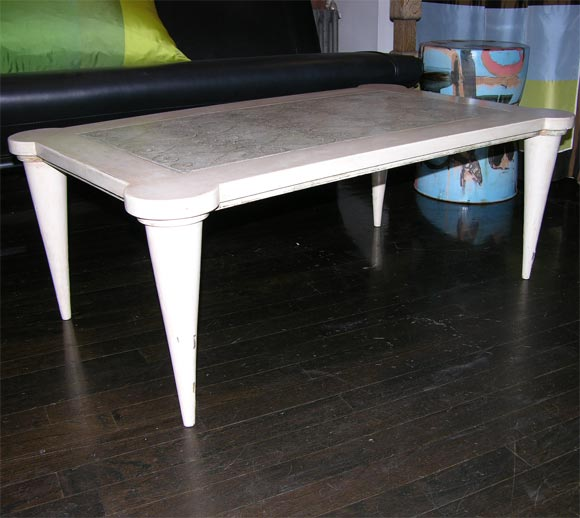 Leon Jallot Coffee Table At 1stdibs