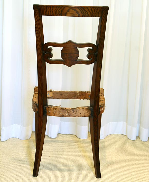 this six french 1940 39 s dining chair frames is no longer available