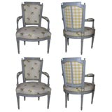 set of four cherner plycraft chairs include pair of armchairs for sale at 1stdibs. Black Bedroom Furniture Sets. Home Design Ideas