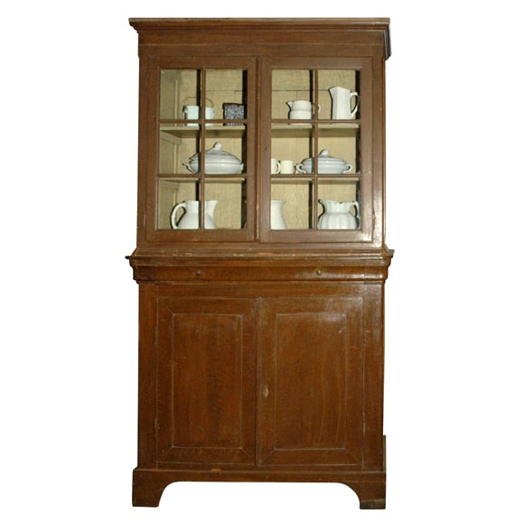 Louis-Philippe Country Cupboard