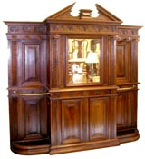 Impressive Hall Cupboard coat and umbrella stand