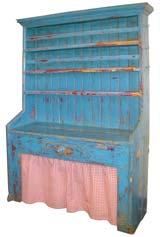 Early Irish Painted Dresser
