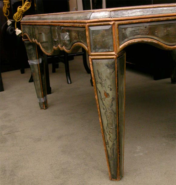 Antique Mirrored Cocktail Table At 1stdibs
