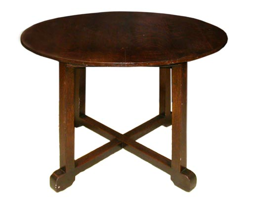 Arts and crafts side table at 1stdibs for Arts and crafts side table