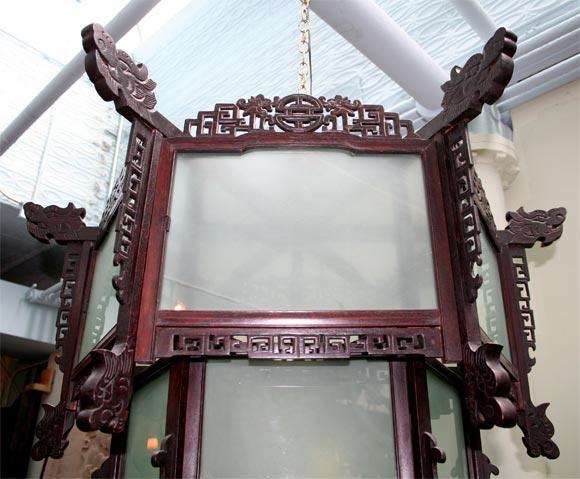 19th Century Large Lantern For Sale