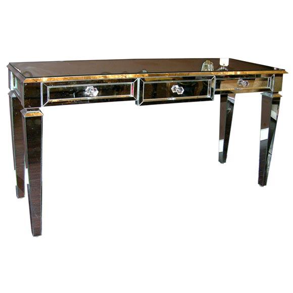 Custom Mirrored Console Table
