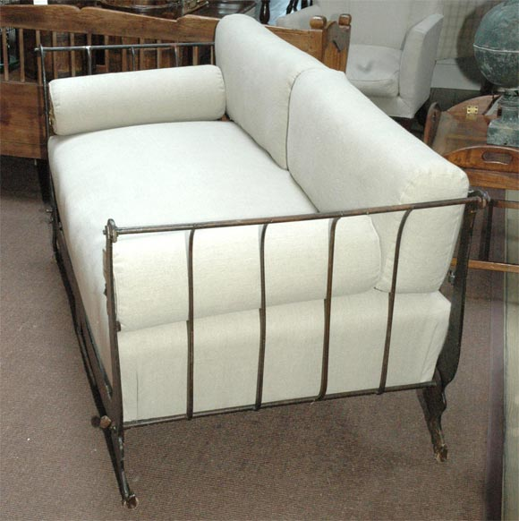 Metal Frame Sofa At 1stdibs