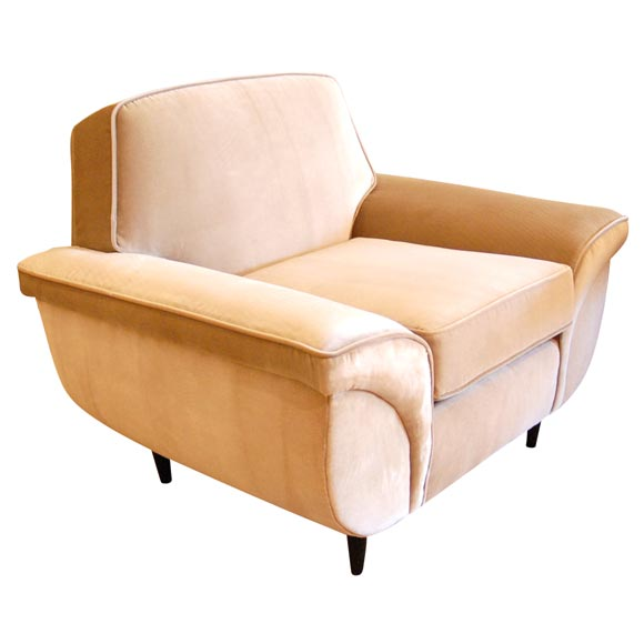 1940s Glam Club Chair at 1stdibs