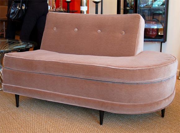 moderne sectional sofa at 1stdibs. Black Bedroom Furniture Sets. Home Design Ideas