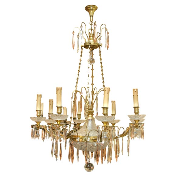 8 arm russian chandelier at 1stdibs