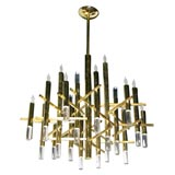 Bravura Cartesian Chandelier by Sciolari