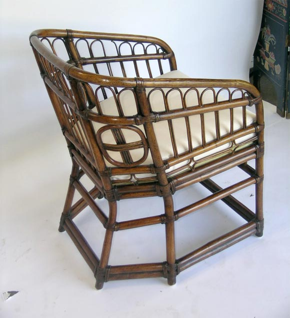 Marshall Fields Furniture: A Pair Of Bamboo Marshall Fields 1950s Arm Chairs At 1stdibs