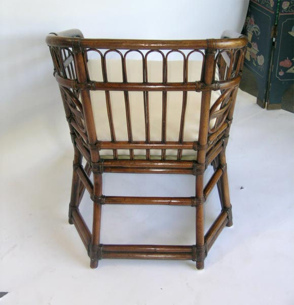 chairs at marshalls a pair of bamboo marshall fields 1950s