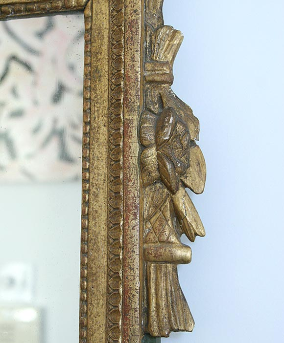 Gilded Mirror In Good Condition For Sale In New Orleans, LA