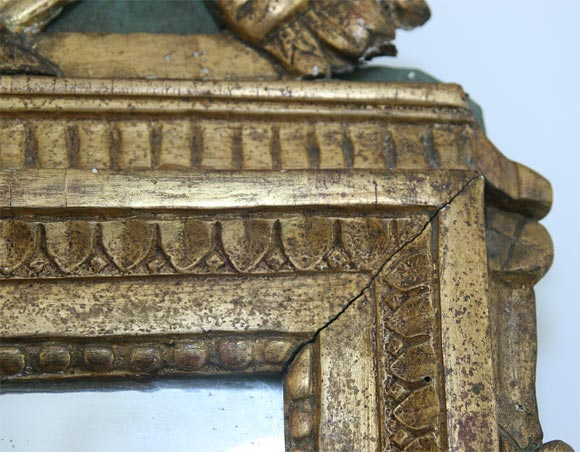 Gilded Mirror For Sale 1