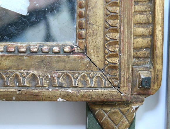 Gilded Mirror For Sale 2