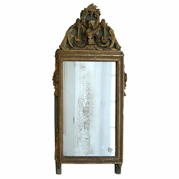 Gilded Mirror For Sale