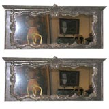 Pair of 18th century Venetian overdoor mirrors
