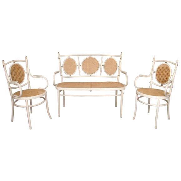 3pc Bentwood Salon Set