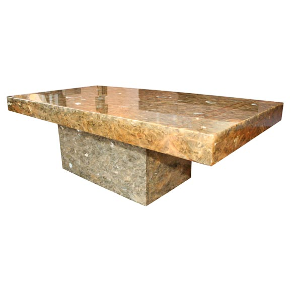 French Resin Coffee Table At 1stdibs