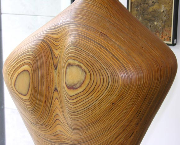 Laminated Sculpture, Wood For Sale