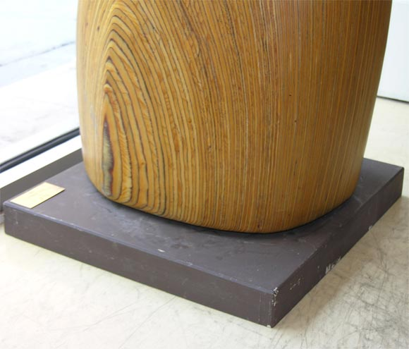 Sculpture, Wood In Excellent Condition For Sale In New York, NY