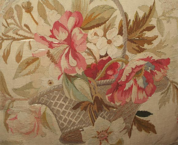 Pair of Aubusson Pillows image 3