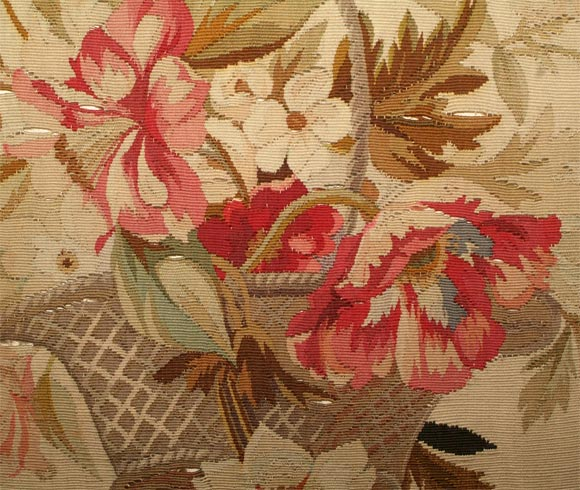 Pair of Aubusson Pillows image 6