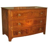 Grand Scale Burled Elm Commode
